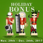 Holiday Bonus Gift Card