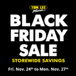 Black Friday Deals at Tom Lee Music