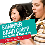 Summer Band Camp for Beginners