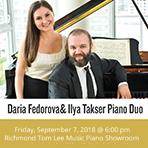 Daria Fedorova & Ilya Takser Piano Duo