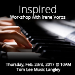 Inspired Workshop with Irene Voros