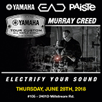 Electrify Your Sound - Yamaha Drum Clinic by Murray Creed