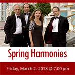 Spring Harmonies By Rimsky-Korsakov String Quartet of St. Petersburg featuring Pianists Michelle Xu and Lin Kai Zhang
