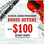 School Band Program Bonus Offers