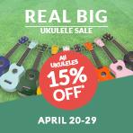 Real Big Ukulele Sale