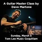 A Guitar Master Class by Dave Martone