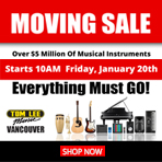 Vancouver Store Moving Sale