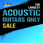 Langley Acoustic Guitars Only Sale