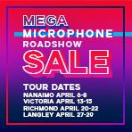 Mega Microphone Roadshow Sale