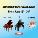 School's Out Piano Sale