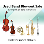 Used Band Blowout Sale