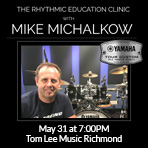 The Rhythmic Education Clinic with Mike Michalkow