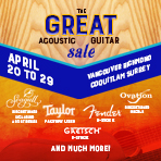 The Great Acoustic Guitar Sale