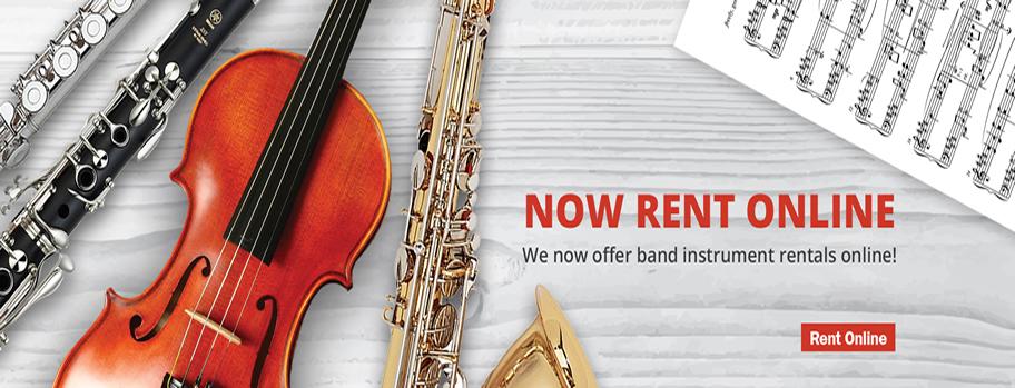 School Band Instrument Rentals