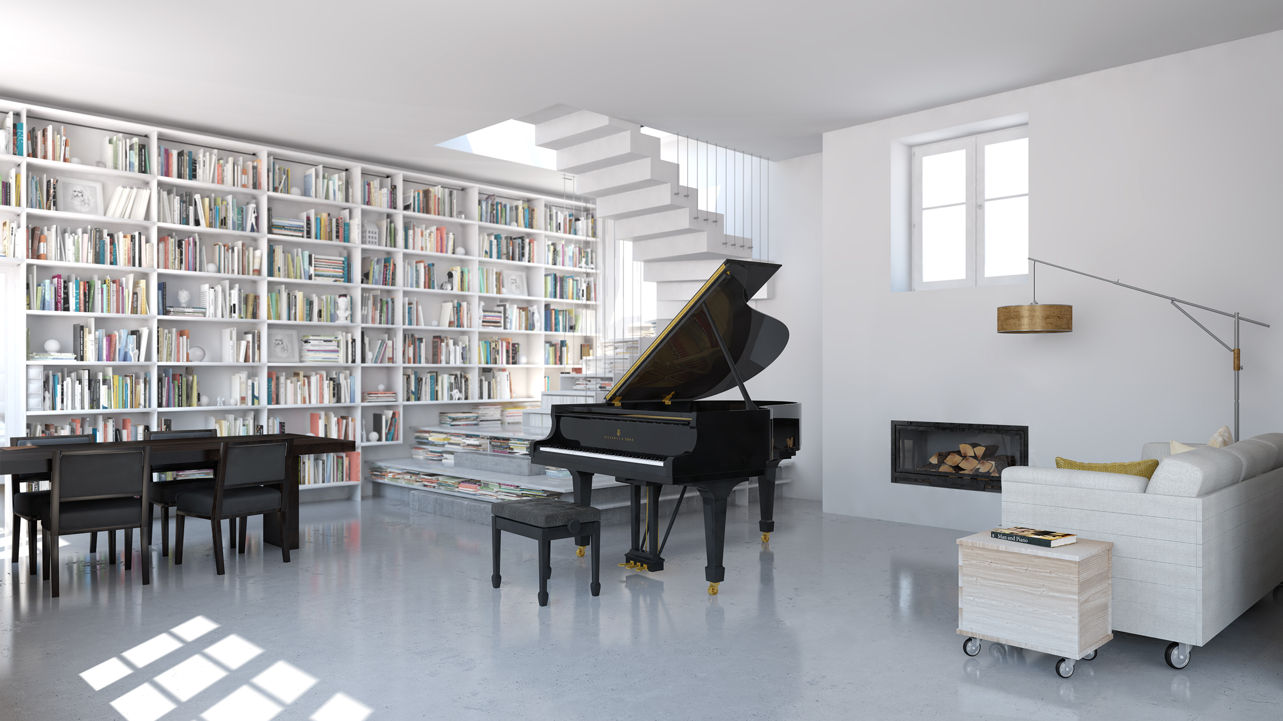 Fancy Piano In Living Room Image Collection - Living Room Design ...