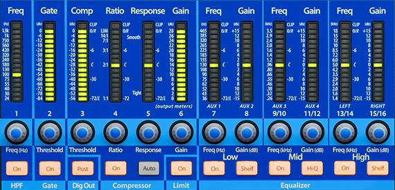 PRESONUS STUDIOLIVE 16 0 2 Usb 2 0 Digital Performance Mixer